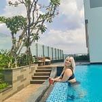 Laurel in the Pool