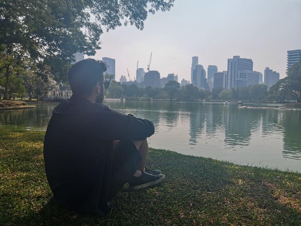 pierce at lumphini park
