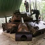 Branden / Pierce on a Tank
